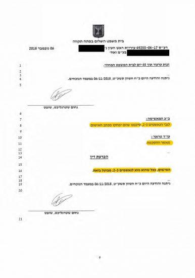 ביטול כתב אישום שהוגש כנגד מנהלי התאגיד | ניהול עסק ללא רישיון.